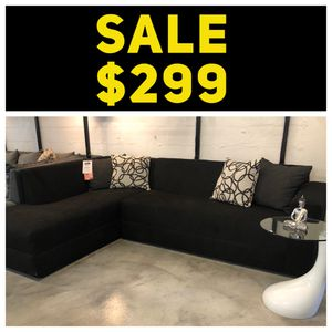 Black 2PC Sectional 💥 for Sale in Miami Springs, FL