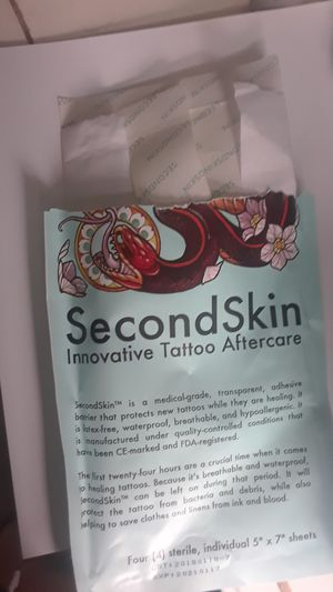 SecondSkin Tattoo Aftercare for Sale in Easton, MA