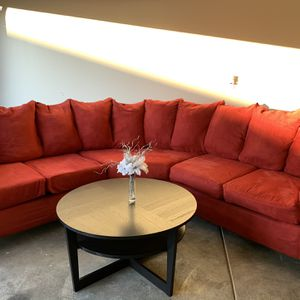Red Sectional Couch for Sale in Puyallup, WA