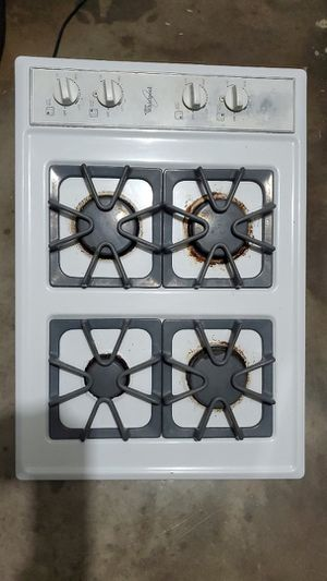 Whirlpool gas cooktop for Sale in Mansfield, TX