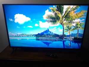 LG TV 50inch with 3 year bestbuy insurance for Sale in Prospect Heights, IL