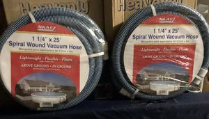 """1 1/4"""" 25' Spiral wound vacuum hose for Sale for sale  North Brunswick Township, NJ"""