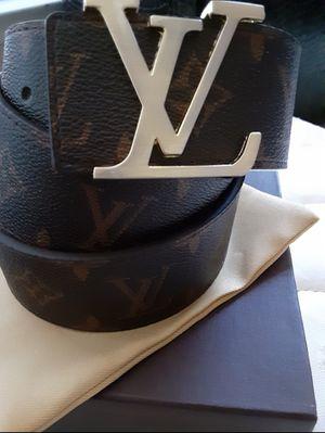 L V Brown mono Cinto new nuevo cafe LouisVuitton for Sale in Dallas, TX