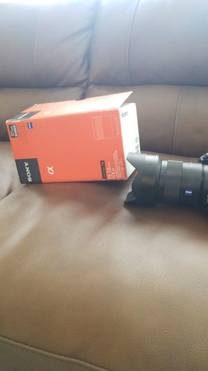 Sony zeiss FE 55mm F 1.8 - 55mm 1.8 for Sale in Houston, TX