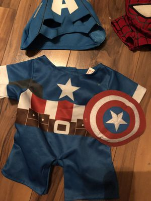 Build a Bear Outfit captain America for Sale in CORP CHRISTI, TX