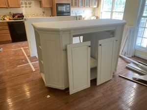 """Single Cabinet previously used for Kitchen island It's 30"""" depth x 73"""" length #kitchen #TV #island for Sale in Woodbridge, VA"""
