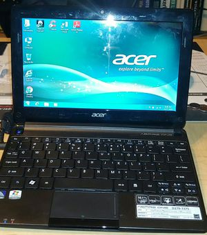 Acer Aspire One D270, MiNi Lap top * Atom 1.6 Ghz, 2 Gb. Ram, 128 GB SSD. HDD. × Windows 7 Sp1. Wi-Fi + Web-Cam Work Good. ✔ for Sale in Surprise, AZ