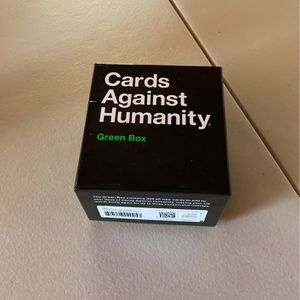 Cards Against Humanity Green Box for Sale in Frostproof, FL