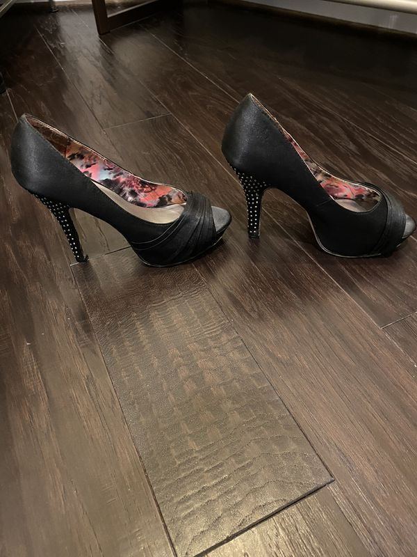 Madden girl black heels
