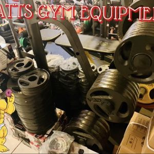 Cap Olympic Weight Plates $1.85 Per Pound for Sale in Fort Lauderdale, FL