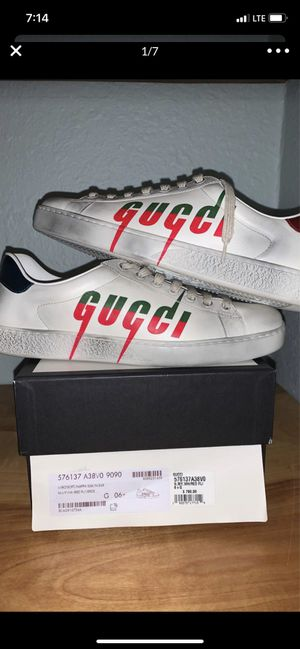 Gucci shoes size 8 for Sale in Portland, OR