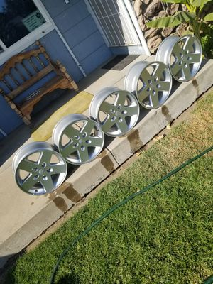 Dodge/jeep wheels for Sale in Merced, CA