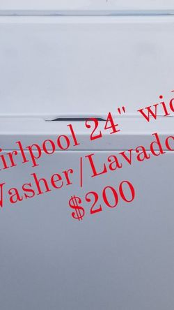 "Lavadora washer Whirlpool (24"") for Sale in Miami,  FL"