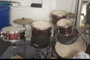 5 piece red pdp drum set for Sale in Detroit, MI