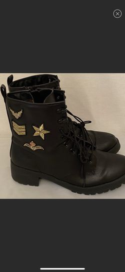 MADDEN GIRL Size 10 Eloise Combat Boots Military Army 10 for Sale in Las Vegas,  NV