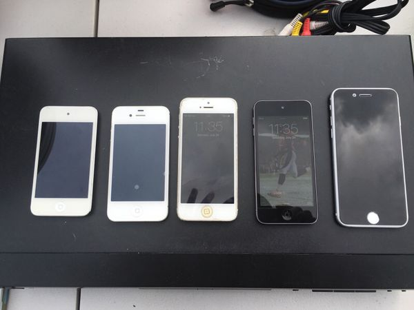 iPhone 4, 5, 6 and IPod 4, 5