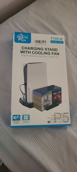 Ps5 Cooling Charging Station Game Storage  for Sale in Apple Valley, CA