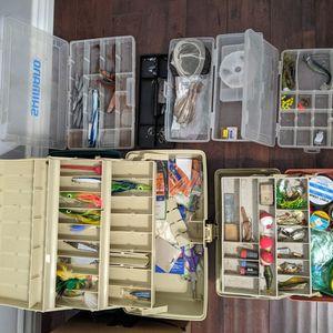Massive Fishing Tackle Box Lot for Sale in Norwalk, CA