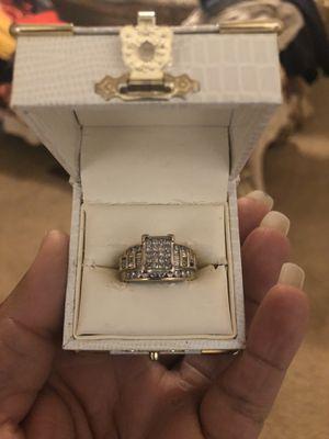 10k gold diamond wedding ring for Sale in Fresno, CA