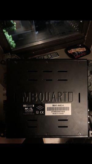 Mb quarts amplifier for Sale in Bristol, RI