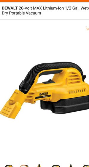 Vacuum 20V. TOOL ONLY for Sale in Alexandria, VA