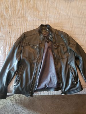 Zara Man Leather Jacket Medium for Sale in Columbus, OH