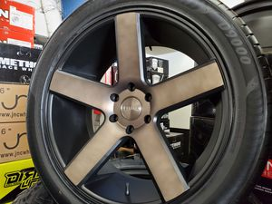 "22"" Dub Baller Rims and Tires 305/40 R22 tires for Sale in Chula Vista, CA"