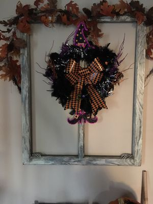 Halloween wreaths made to order for Sale in Lancaster, OH