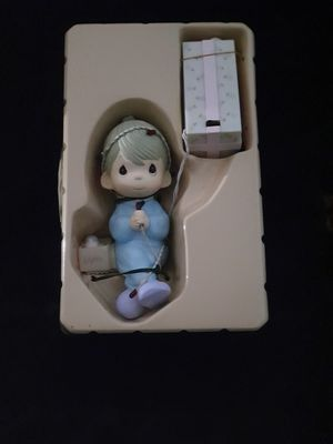 Precious Moments stocking hanger with lights for Sale in Hialeah, FL