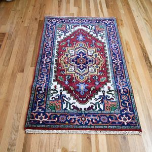 3x5 Handmade Wool Rug for Sale in Portland, OR