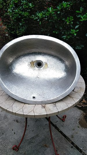 Lightweight aluminum camper sink for Sale in Mount Pleasant, SC