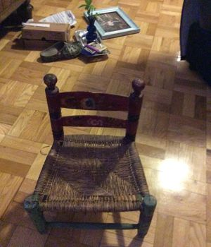 Antique small chair. All details are original for Sale in New York, NY