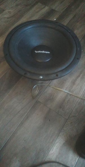 """12"""" Rockford Fosgate subwoofer for Sale in Sioux Falls, SD"""