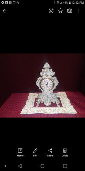 Solid brass clock. Heavy for Sale in Miami Beach, FL