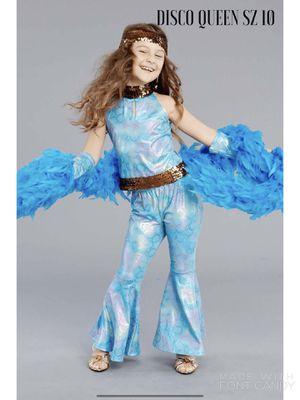 NWT Disco Queen Halloween Costume For Girls - SZ 10 for Sale in Arlington, VA