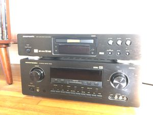 Marantz AV Surround Receiver SR8000 + Super Audio CD/DVD Player DV7600 for Sale in Los Angeles, CA
