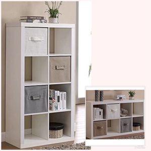 New!! Storage,Organizer,Bookcase,8 Cube Organizer-White for Sale in Phoenix, AZ