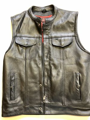 Brand New Z1R Leather Motorcycle Vest Large for Sale in University Place, WA