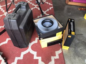 Vintage portable KODAK film slide projector and group of tray carousels for Sale in Monrovia, CA