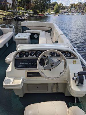 24ft Pontoon boat for Sale in Hewitt, NJ