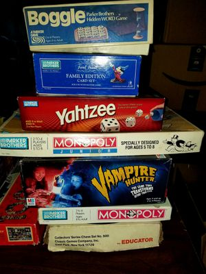 Family game night! Board games and puzzles! for Sale in Portland, OR
