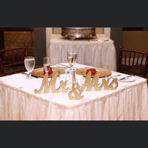 Wedding Sweetheart Table - Mr. & Mrs. Sign for Sale in Tampa, FL