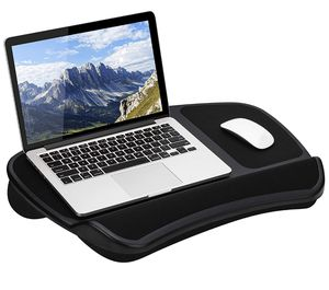 LapGear Original XL Laptop Lap Desk with Storage Pockets - Black. for Sale in Parma, OH