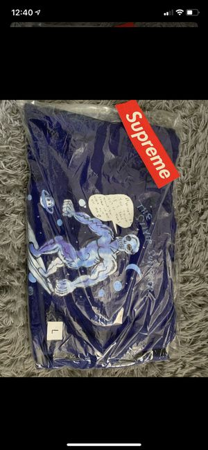 SUPREME SILVER SURFER HOODIE (L) for Sale in Fontana, CA
