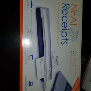 Neat Receipts scanner for Sale in Tacoma, WA