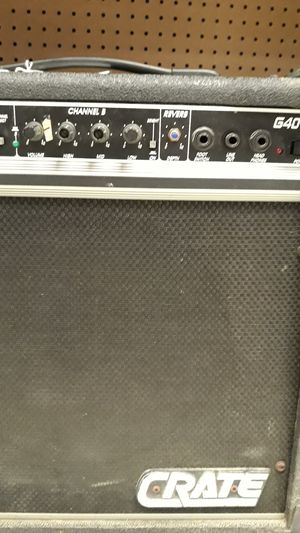 Crate G40XL Amp for Sale in Chicago, IL