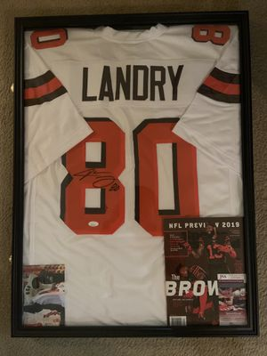 Signed Custom Jarvis Landry Jersey for Sale in Greenville, NC