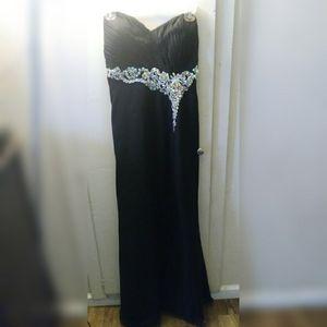 Black Prom Dress Sweetheart Neckline for Sale in El Monte, CA