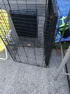 1 Large and 1 small dog cage for Sale in Spanaway, WA