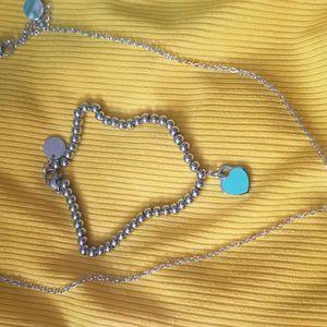 Tiffany Necklace & Bracelet for Sale in College Park, GA